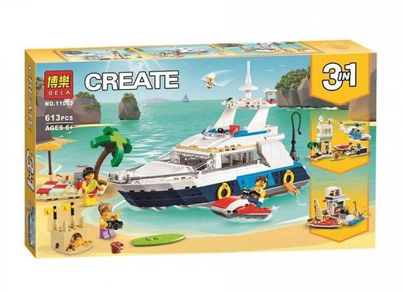 Конструктор BELA Морские приключения  (Артикул 11053)