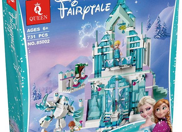Конструктор Queen Волшебный ледяной замок Эльзы (Артикул 85002)