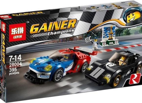 Конструктор Lepin Gainer 28004 Форд GT 2016 и Форд GT40(Артикул: 28004)