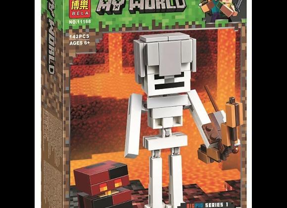 Конструктор BELA Скелет с кубком магмы (Артикул 11168)