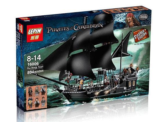 Конструктор LEPIN Пираты Карибского моря Черная жемчужина (Артикул: 16006)