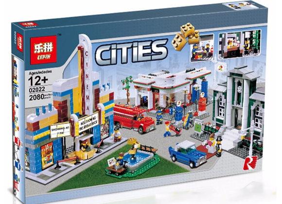 Конструктор LEPIN План города (Артикул 02022)