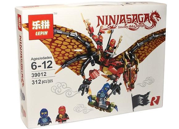 Конструктор LEPIN Огненный дракон (Артикул: 39012)