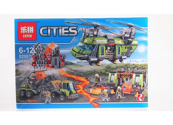 Конструктор LEPIN Тяжёлый транспортный вертолёт «Вулкан»(Артикул:02087)