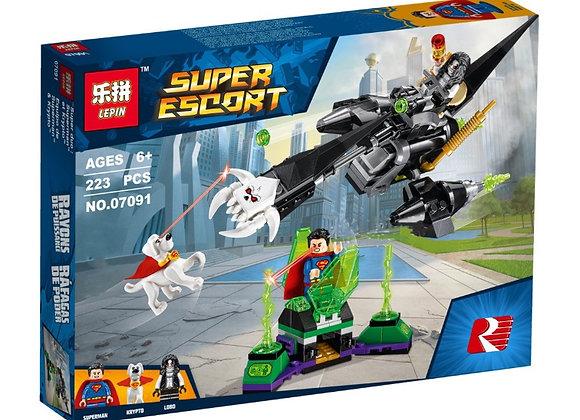 Конструктор LEPIN Супермен и Крипто объединяют усилия ( Артикул: 07091)