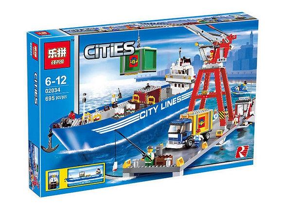 Конструктор LEPIN Грузовой порт (Артикул: 02034)