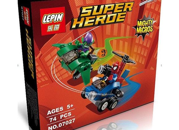 Конструктор LEPIN Человек-паук против Зеленого Гоблина (Артикул 07027)