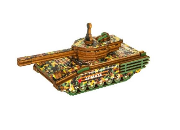 Цветная модель для сборки танк «Армата» (арт. 020104)