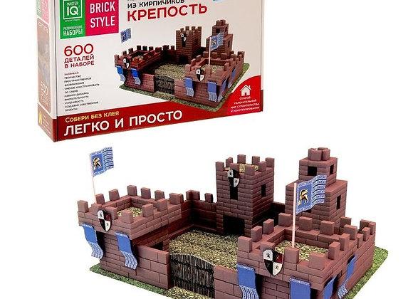 Конструктор из кирпичиков Крепость (600 деталей) (Арт.1302)
