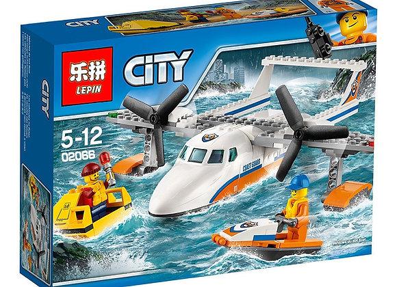 Конструктор LEPIN Спасательный самолет береговой охраны (Артикул: 02066)
