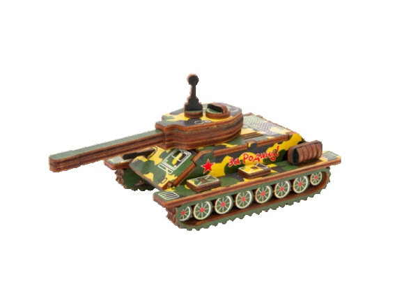 Цветная модель для сборки танк Т-34 (арт. 020105)