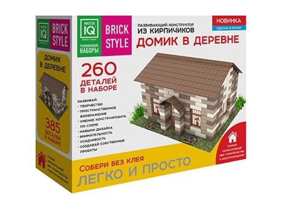 Конструктор из кирпичиков Домик в деревне (260 деталей) (Арт.1301)