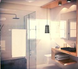 יחידית כיור מקלחת