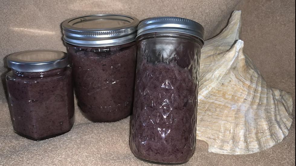 Purple Irish Sea moss gel