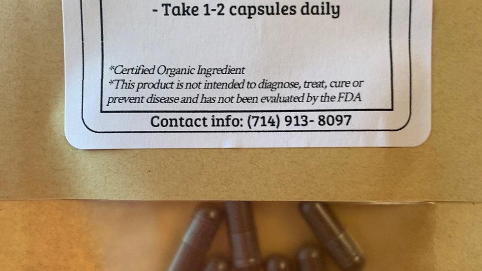 Reishi Mushroom 60 capsules