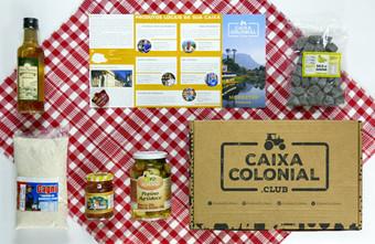 Caixa Colonial - Culinária Regional