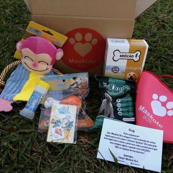 Maskote Box - Produtos de Pet Shop