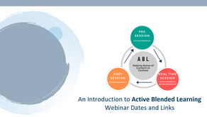 ACTIVE BLENDED LEARNING - Webinar series