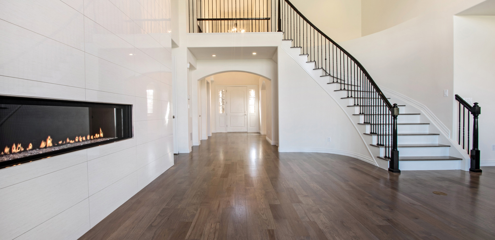 great room to foyer