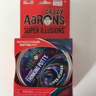 Crazy Aarons Super Illusions - Super Scarab Thinking Putty
