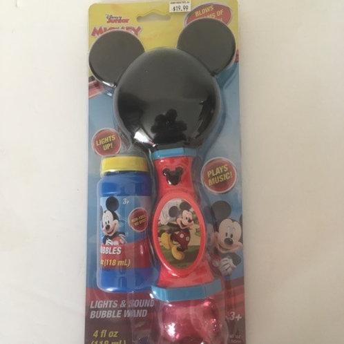 Disney Mickey Mouse Lights & Sound Bubble Wand