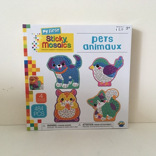 ORB My First Sticky Mosaics Pets