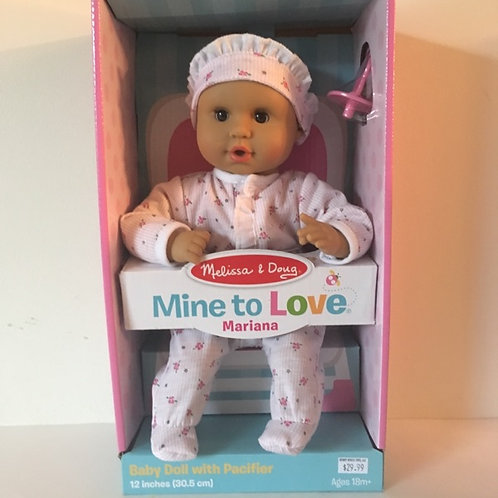 Melissa & Doug Mine to Love Baby Doll - Mariana