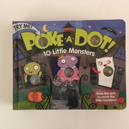 Melissa & Doug Poke A Dot Book - 10 Little Monsters