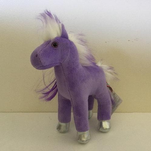 Douglas Keira Purple Horse Plush
