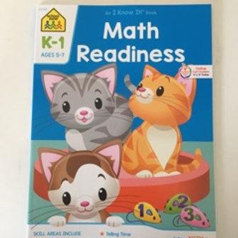 School Zone Math Readiness