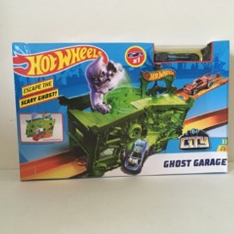 Hot Wheels Ghost Garage Set