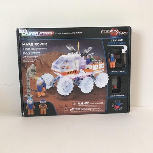 Laser Pegs - Mars Rover