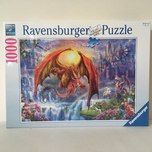 Ravensburger Puzzle, Dragons and Castles