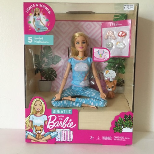 Breathe with Me Barbie Doll & Accessories