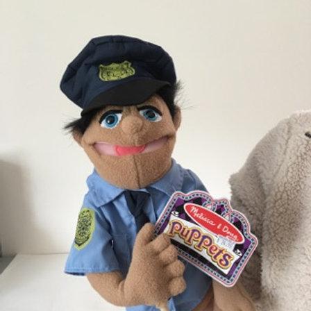 Melissa & Doug Puppet, Police