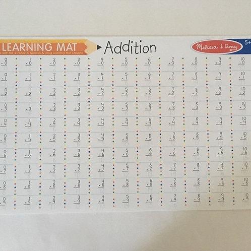 Melissa & Doug Learning Mat - Addition