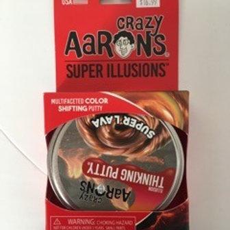 Crazy Aarons Super Illusions - Super Lava Thinking Putty