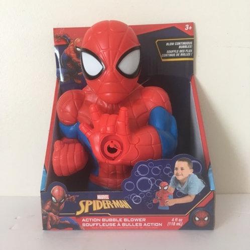 Marvel Spiderman Action BubbleBlower