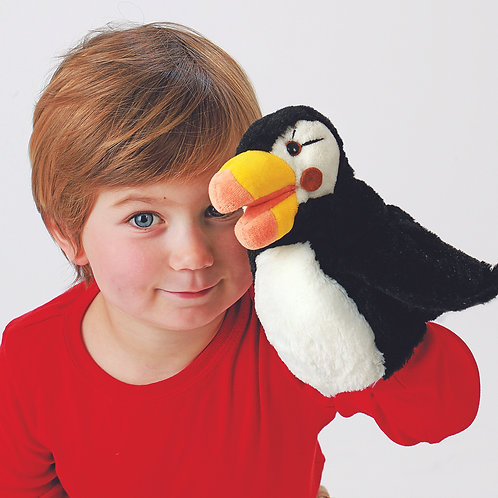Folkmanis Little Puffin Puppet