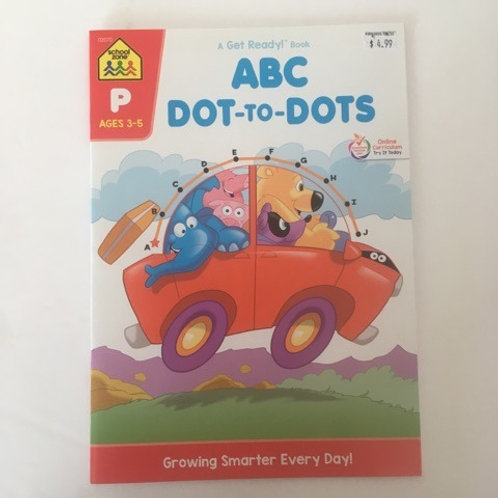 School Zone ABC Dot to Dots Book