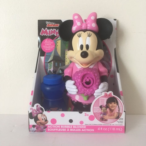 Disney Minnie Mouse Action Bubble Blower