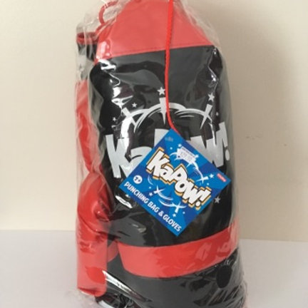 Kapow Punching Bag & Gloves