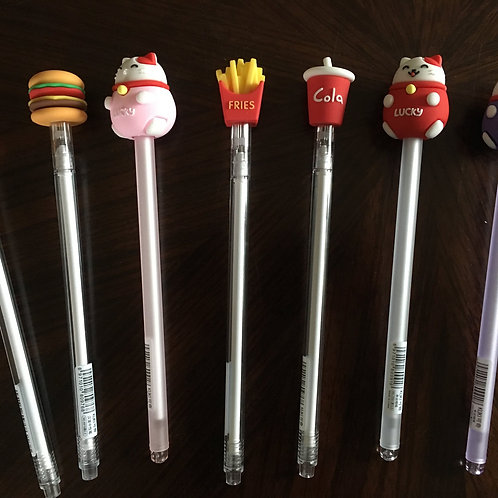 Lucky Cat & Fast Food Pens