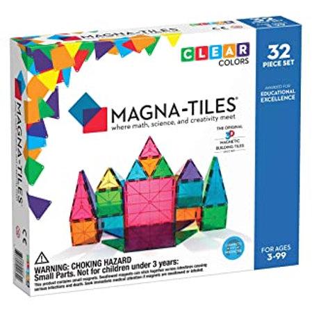 Magna-Tiles? Solid Colors 32-Piece Set