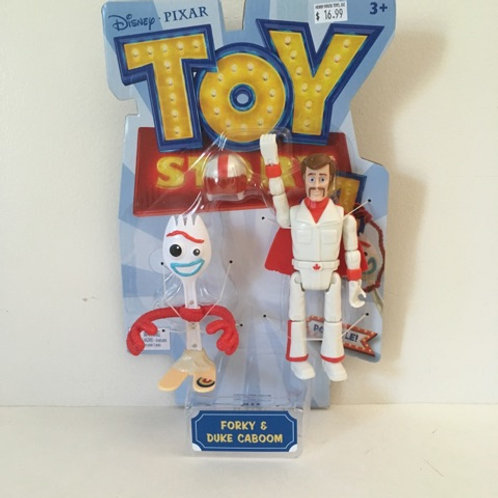 Disney Toy Story 4 Forky & Duke Caboom Figures