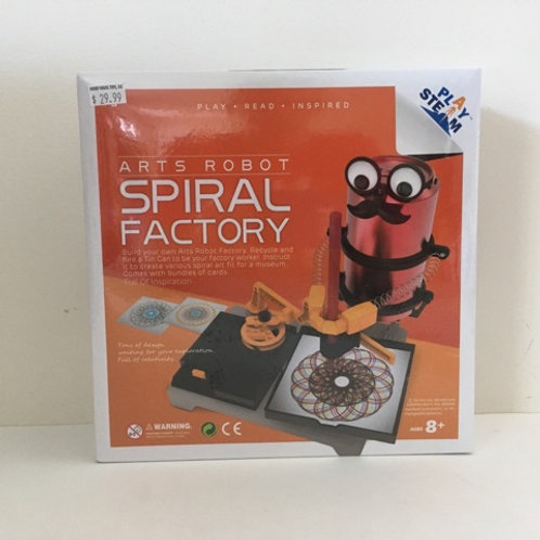 Play Steam Arts Robot Spiral Factory