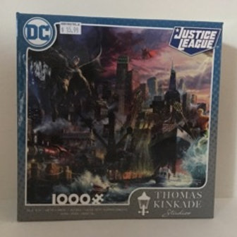Ceaco Justice League Thomas Kinkade Puzzle