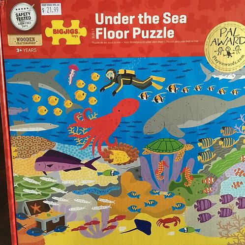 Bigjigs Under the Sea Floor Puzzle / 48 pieces