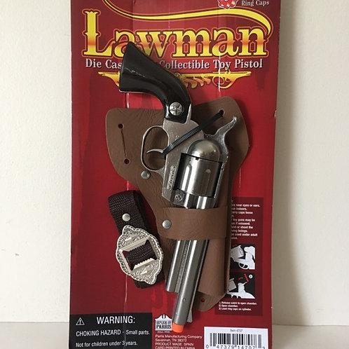 Parris Die Cast Metal Collectible Toy Pistol - Lawman