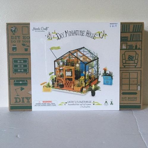 Hands Craft Miniature Flower House Building Kit